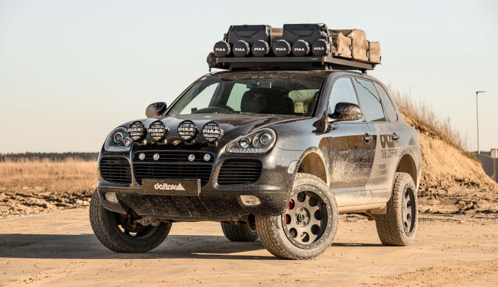 photo of Porsche Cayenne Transformed Into Hardcore Off-Roader image