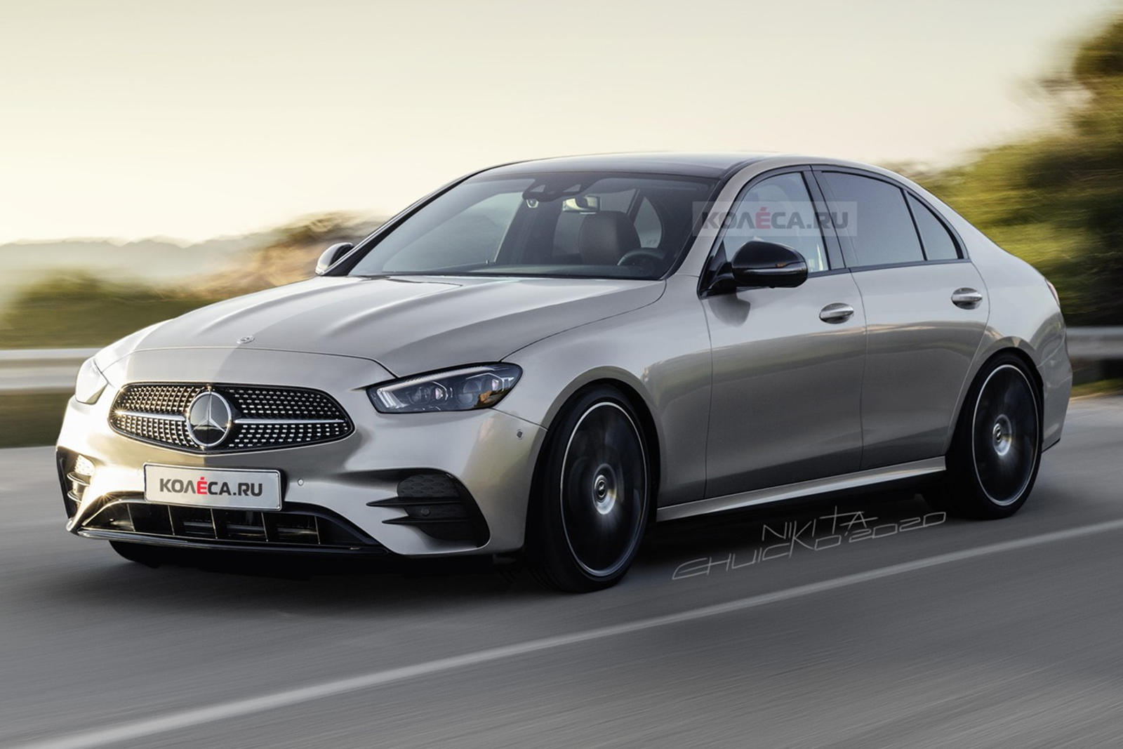 The New Mercedes C-Class Is Going To Look Hot