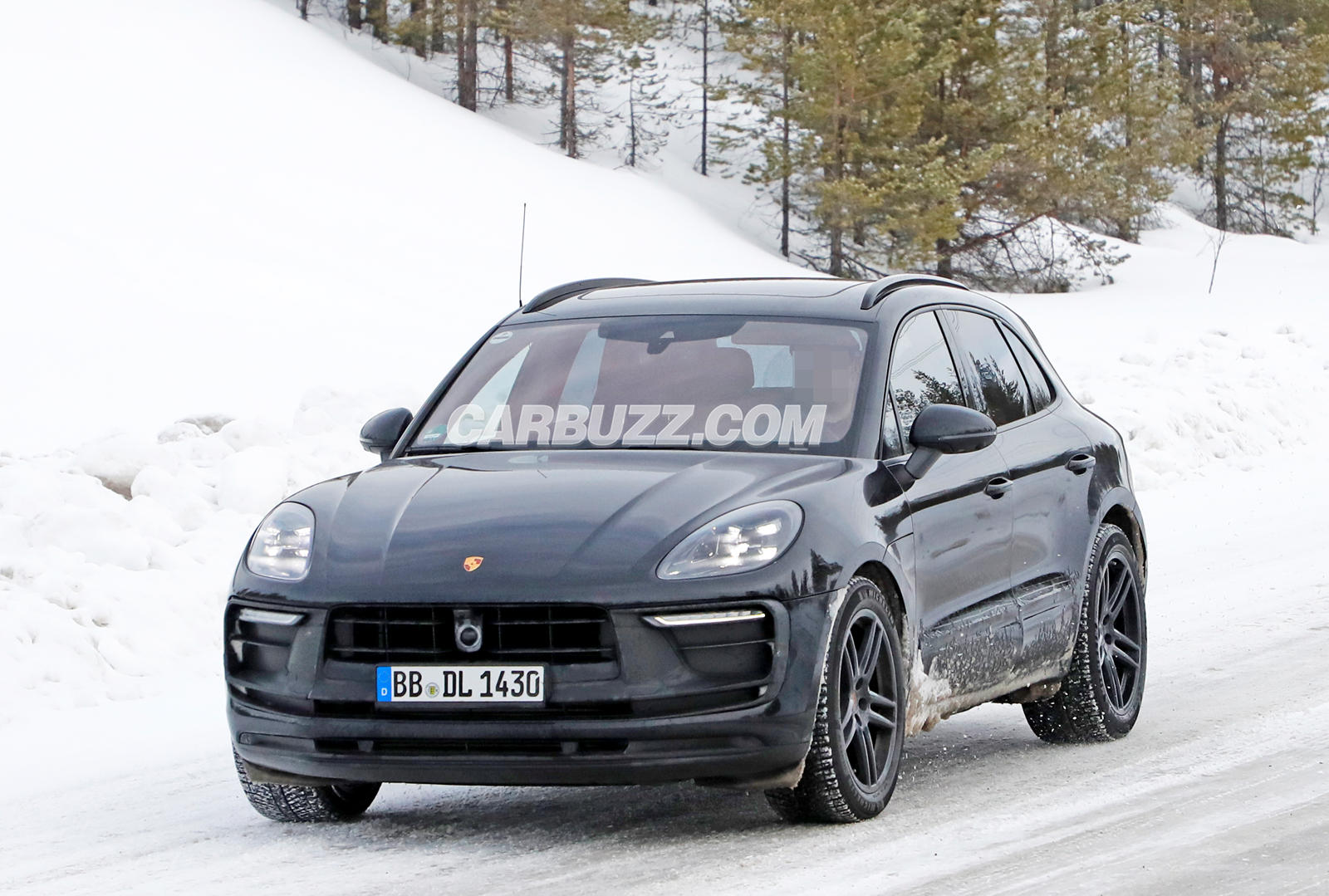 First Look At The All-Electric Porsche Macan