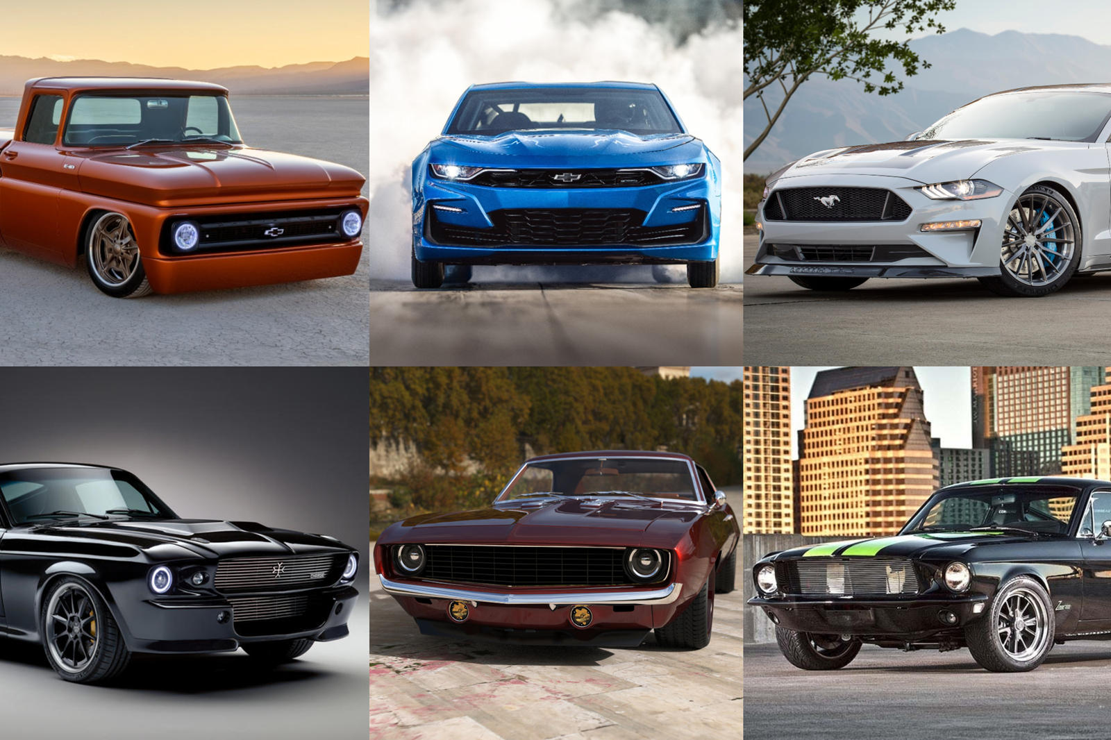The World's First Electric Muscle Cars Are Epic | CarBuzz