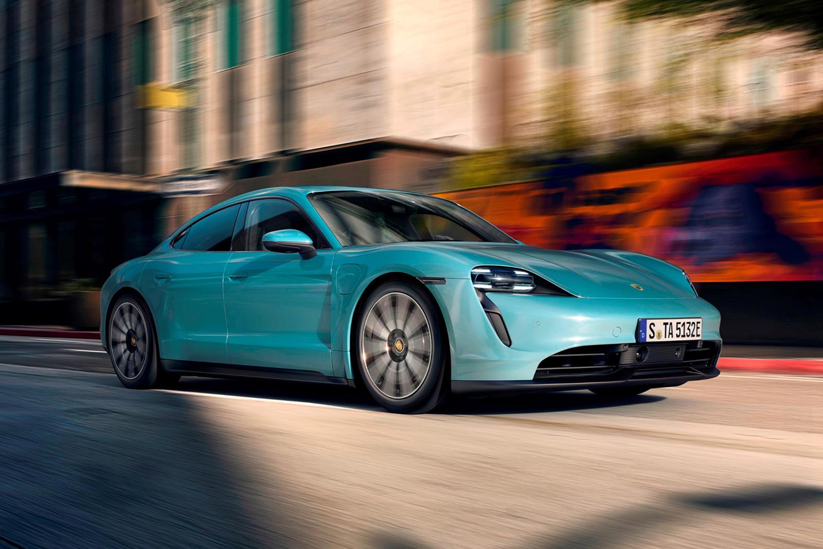 Official 2020 Porsche Taycan 4s Has Less Range Than Tesla Carbuzz