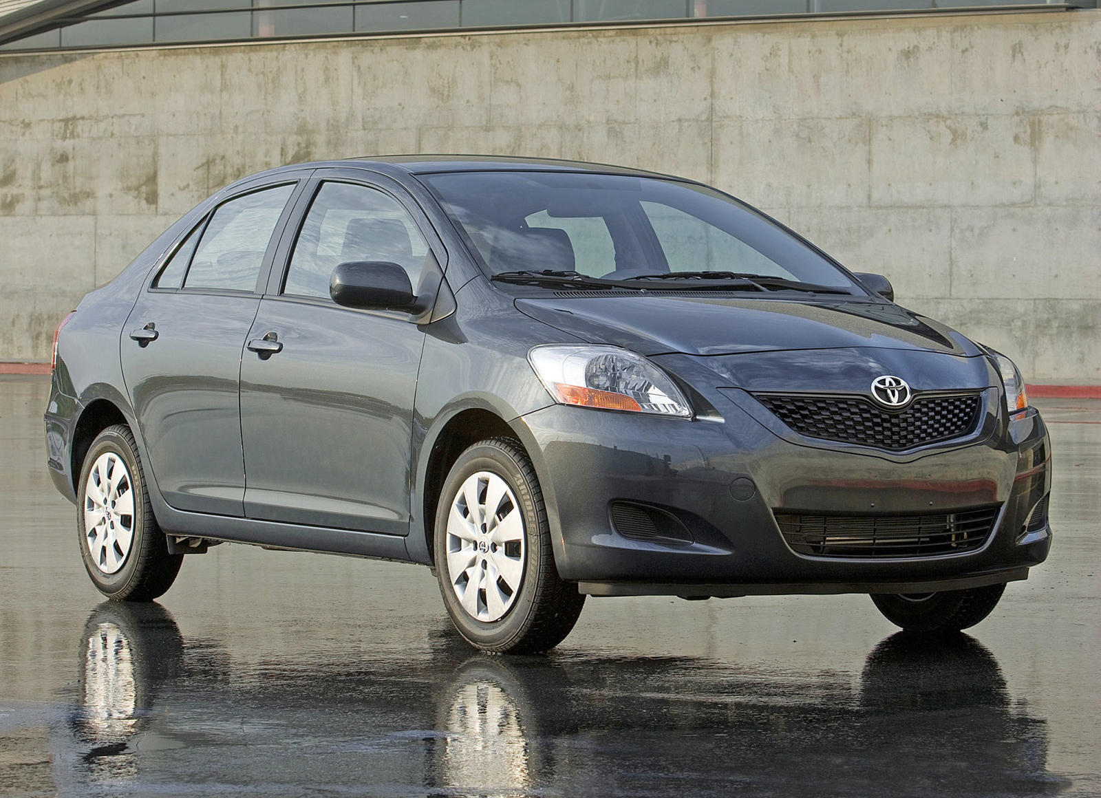 2010 Toyota Yaris Sedan Review Trims Specs Price New Interior Features Exterior Design And Specifications Carbuzz