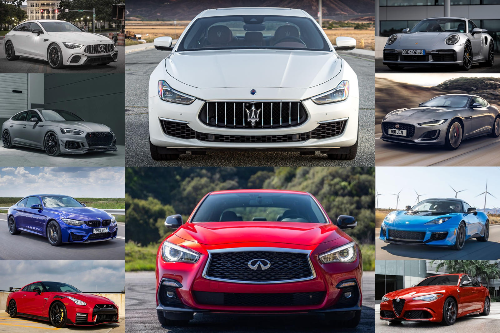 Best Supercharged And Turbocharged Six-Cylinder Cars You Can Buy Today