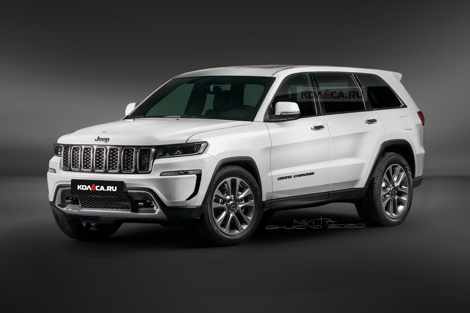 2021 Jeep Grand Cherokee Will Be One Handsome SUV