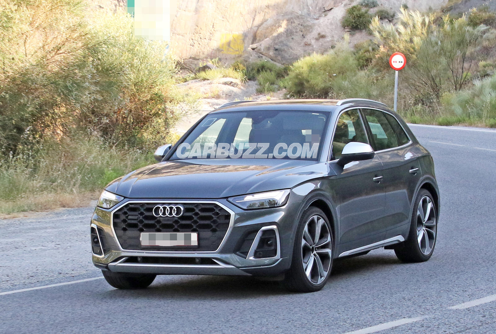 2021 Audi SQ5 Spied Completely Naked