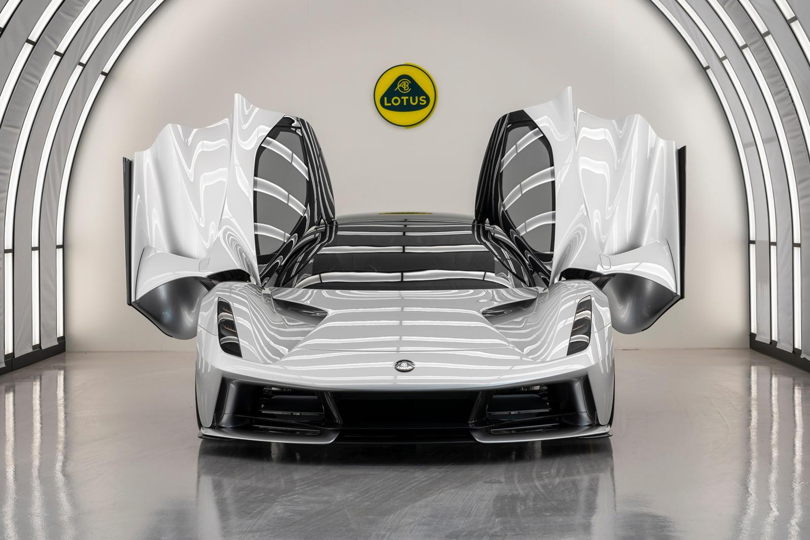 Lotus Evija Will Hit 186 MPH Faster Than A Bugatti Chiron