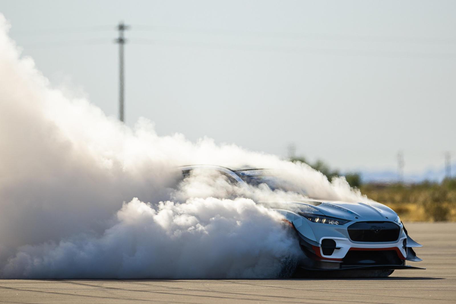 Ford Teases An Insane New Mustang Mach-E thumbnail