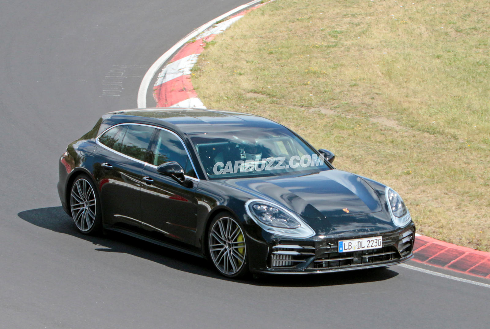 photo of Porsche's Fastest Wagon Sheds More Camo image