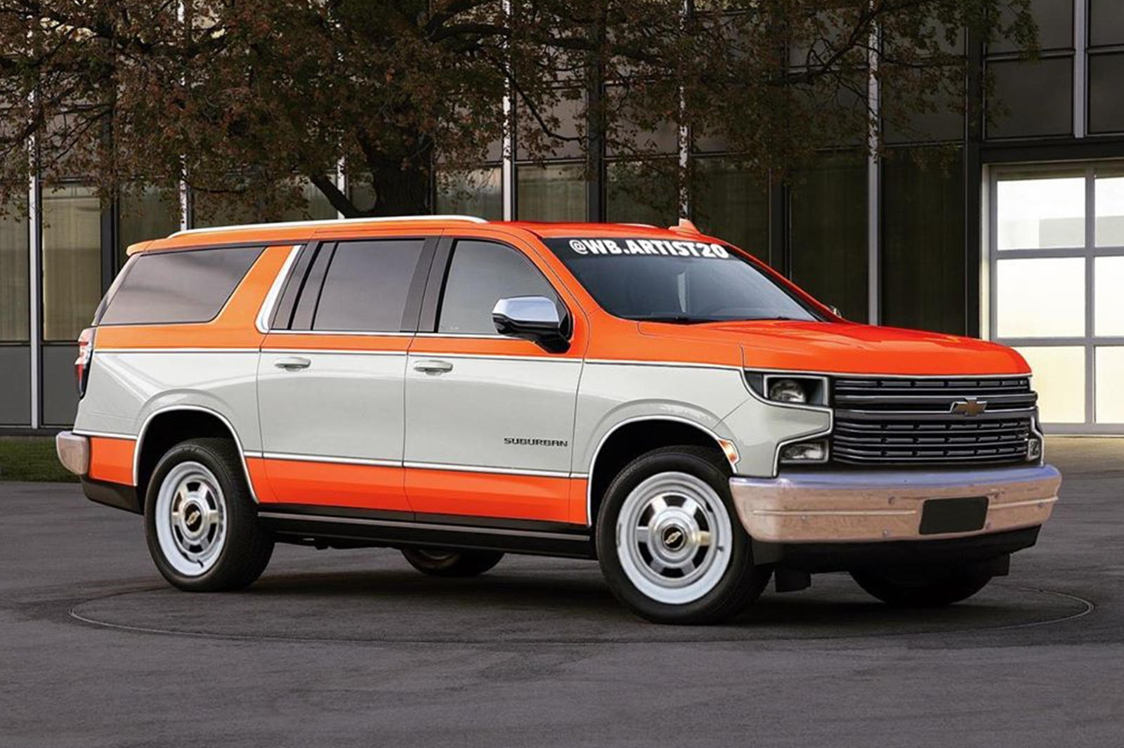 Chevrolet Suburban Comes To Life With Retro Styling