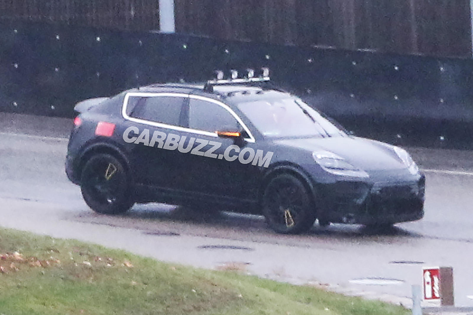 Here's Your First Look At The Electric Porsche Macan