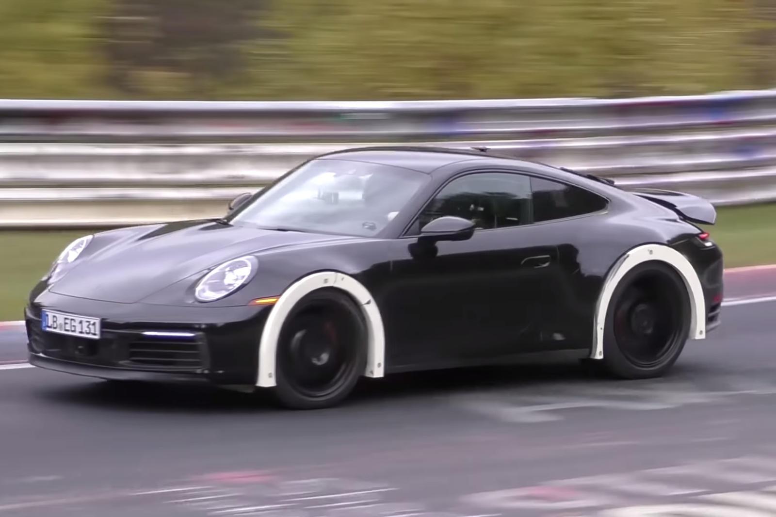 What Is This Oddball Porsche 911?