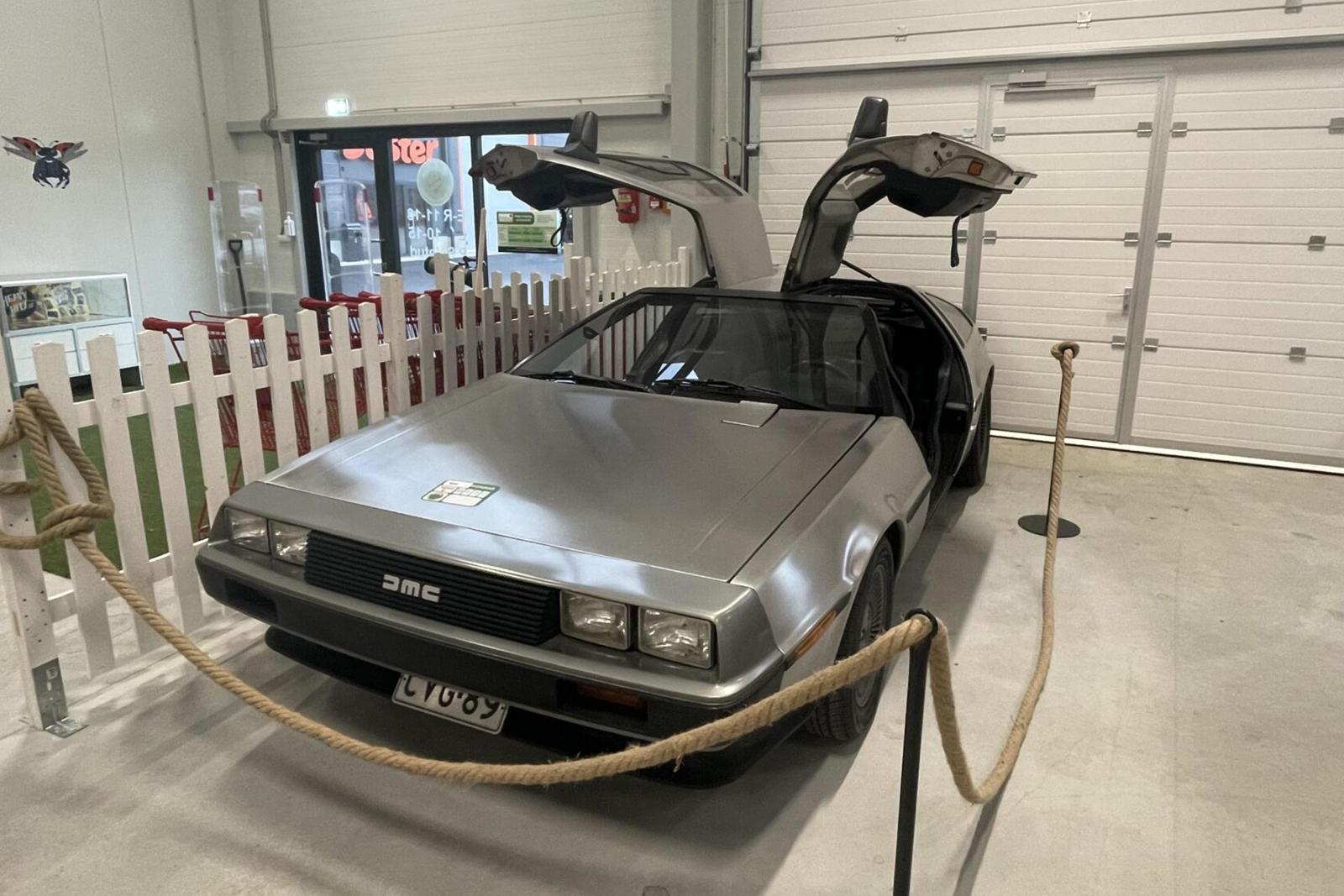 Estonian Thrift Store Selling DMC DeLorean For $65,000