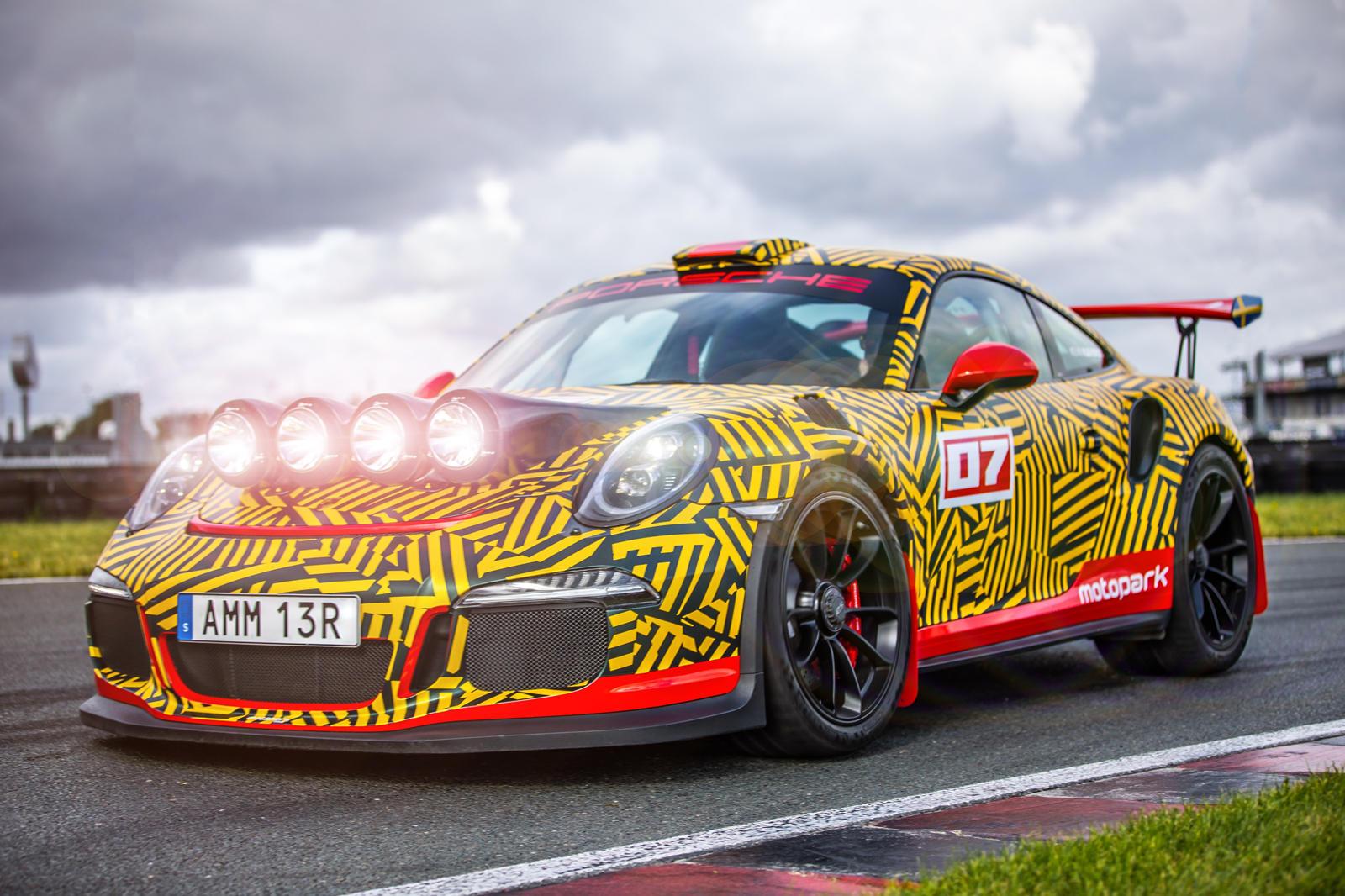Porsche 911 GT3 RS Transformed Into Road-Legal Rally Car