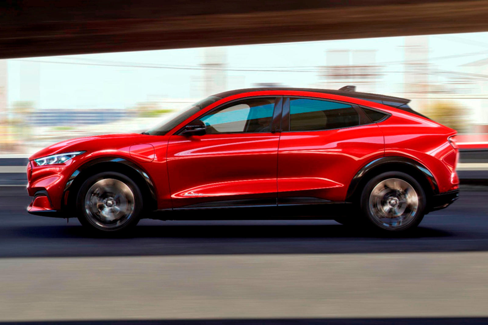 photo of Ford Mustang Mach-E Was Benchmarked Against The Porsche Macan image