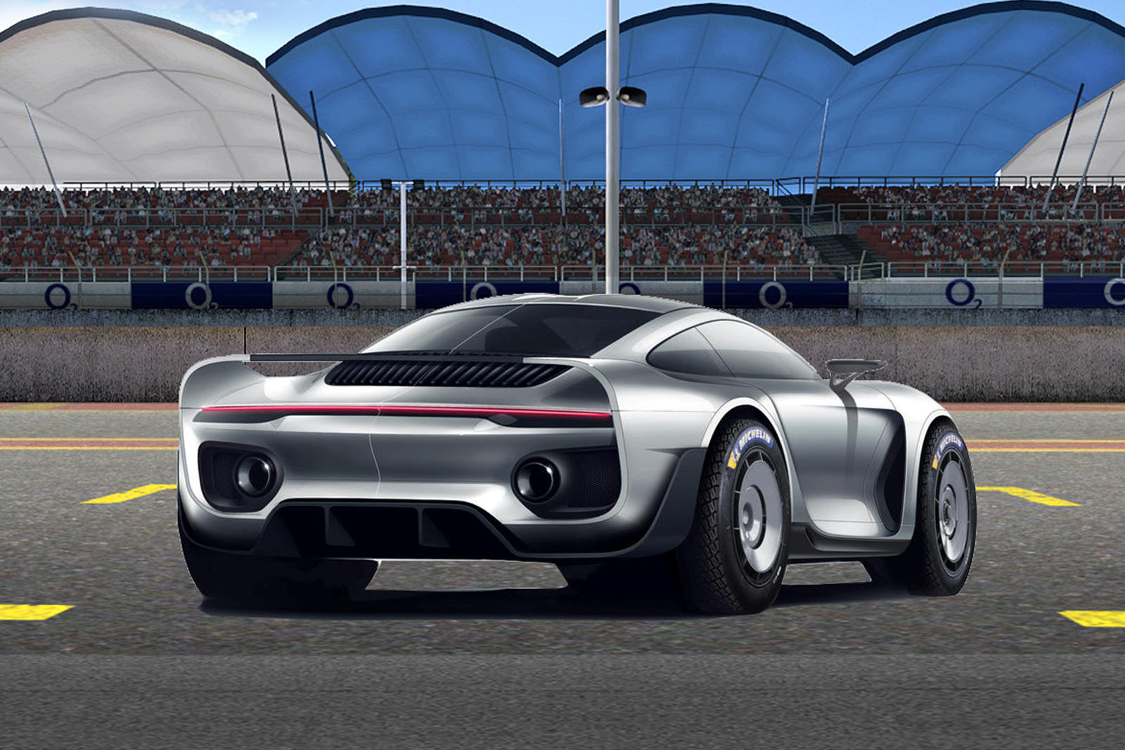 photo of Gemballa's 959 Supercar Based On New Porsche 911 With 740-HP Ruf Engine image
