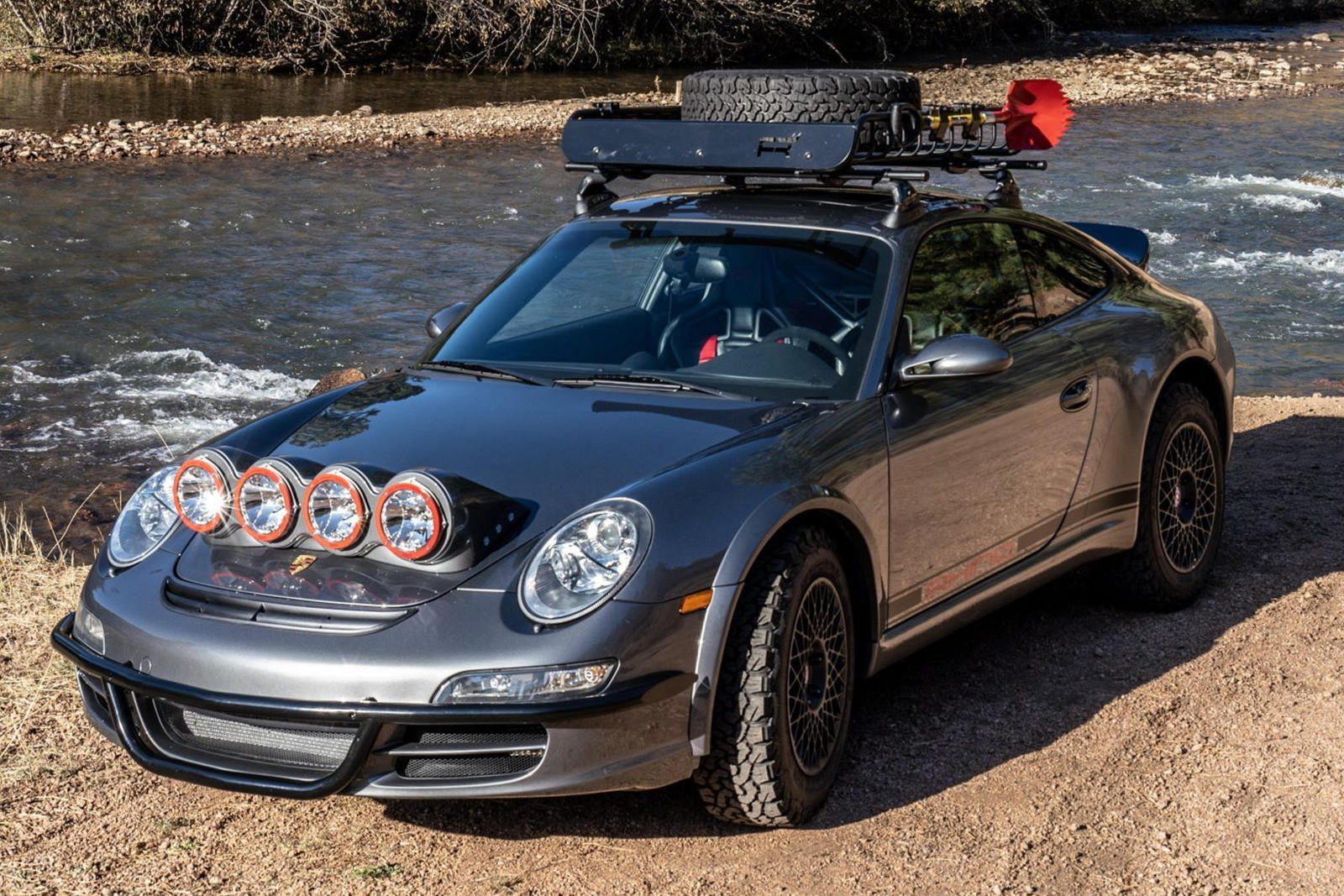 This Crazy Porsche 911 Carrera S Is Chasing Jeeps, Not McLarens