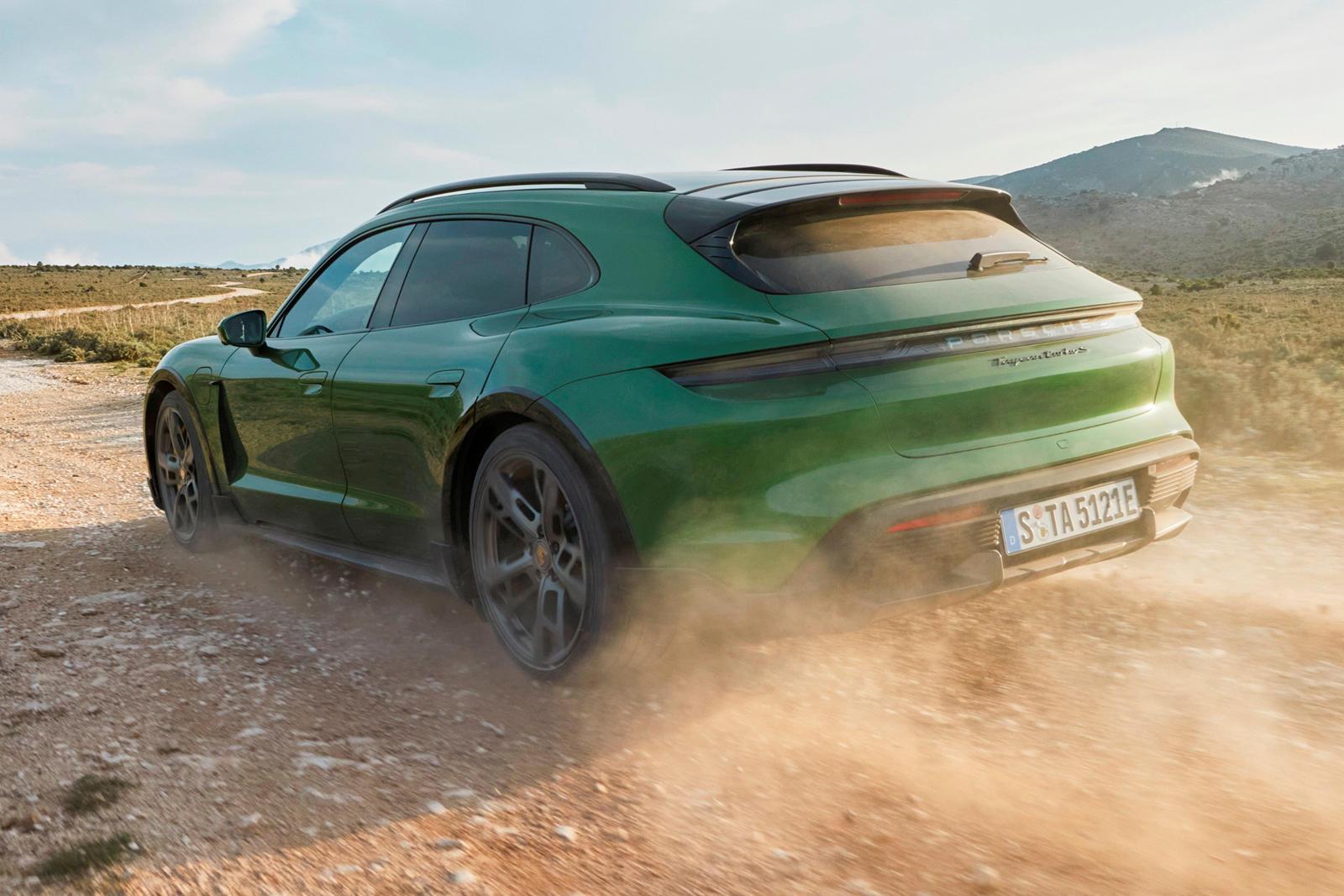 2021 Porsche Taycan Cross Turismo Is An Electric Sport Rally Car