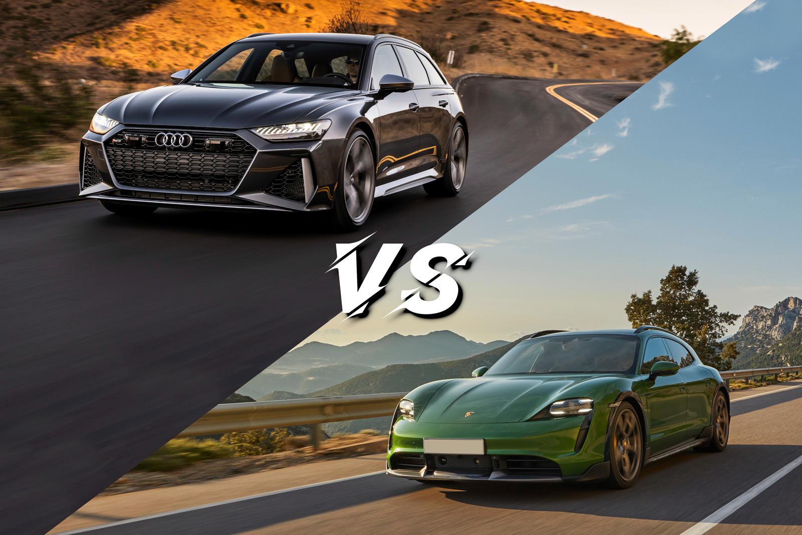 Comparison: Porsche Taycan Turbo Cross Turismo Vs. Audi RS6 Avant