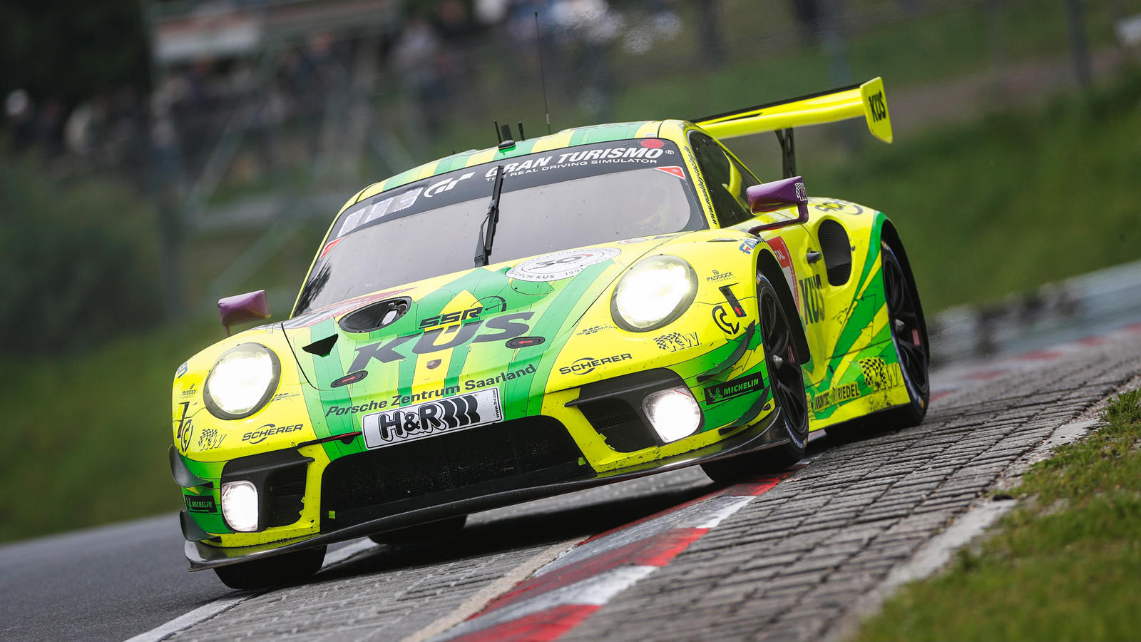 photo of Porsche 911 GT3 RS Wins Shortest Ever Nurburgring 24 Hours image