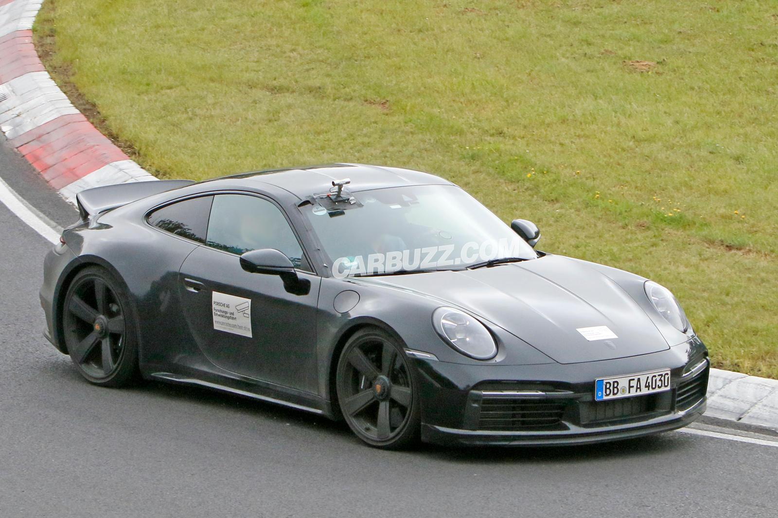 Special Porsche 911 Sport Classic Spied With Unique Details