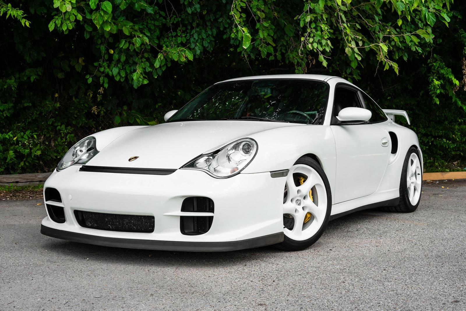 photo of Carrara White Porsche 911 GT2 Is 1 Of 10 Ever Made image