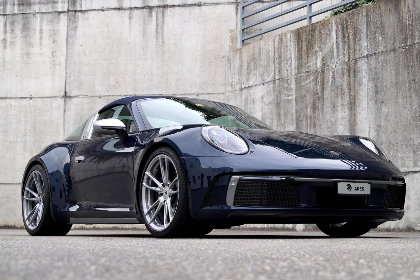Porsche 911 Targa By Ares Design Is A One-Off Widebody Masterpiece