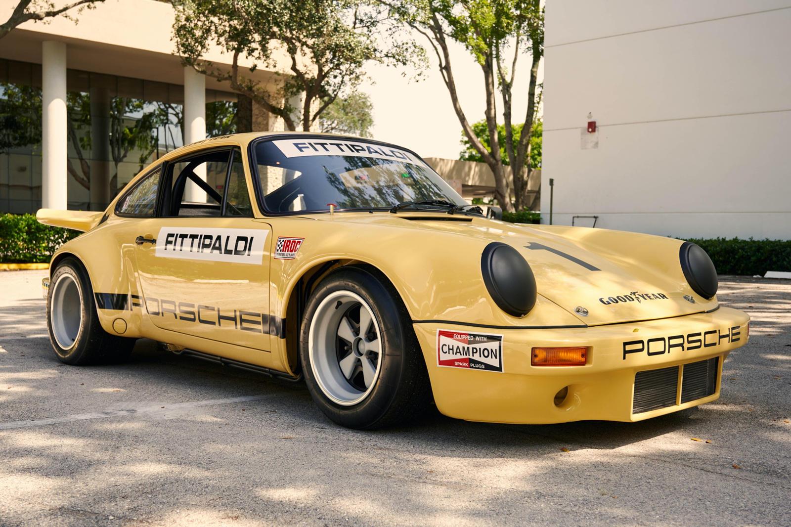 Pablo Escobar's Porsche 911 RSR IROC Is One Of 15 Ever Made