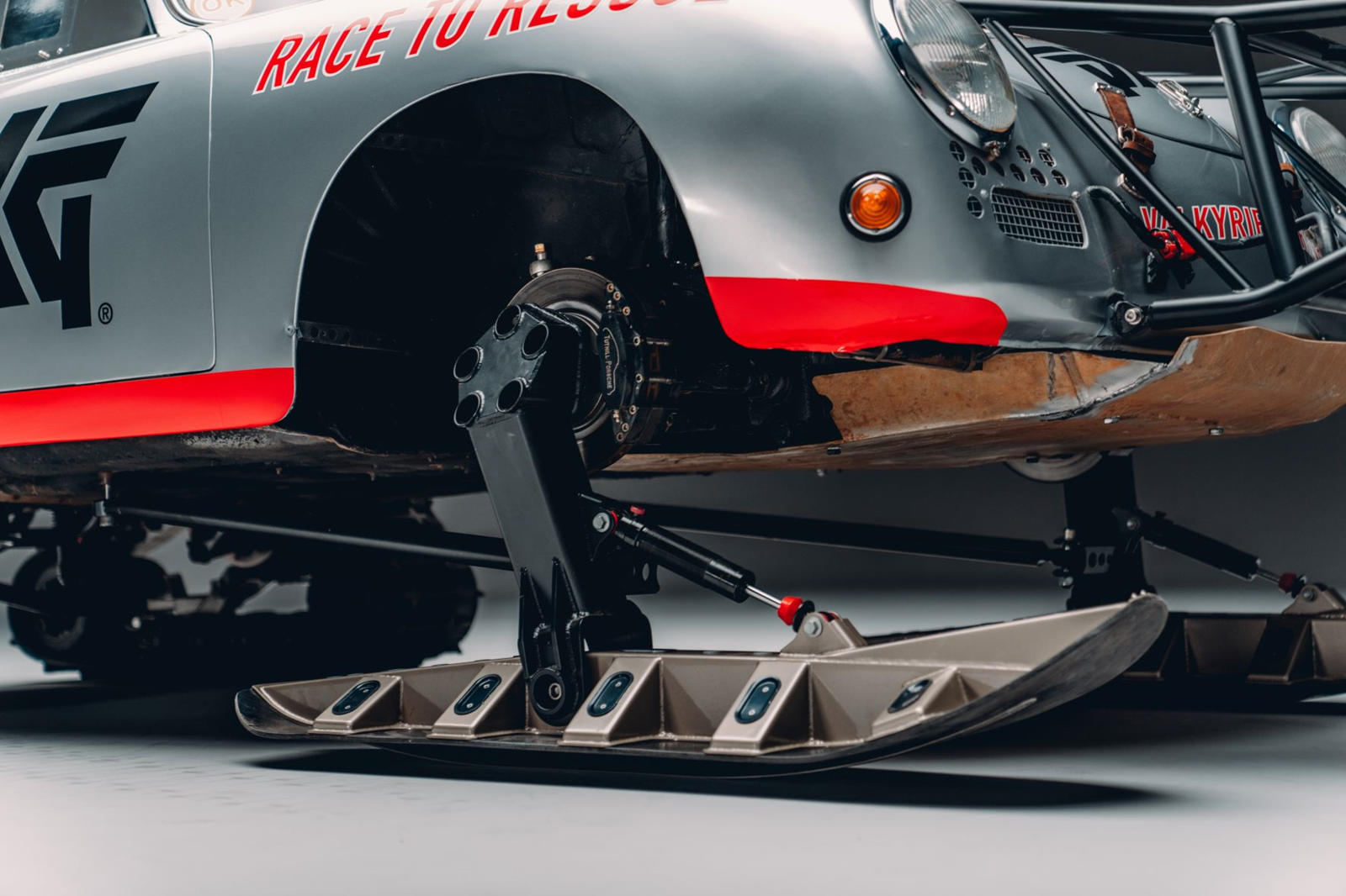 Porsche Becomes Extreme Ice Racer For One Purpose