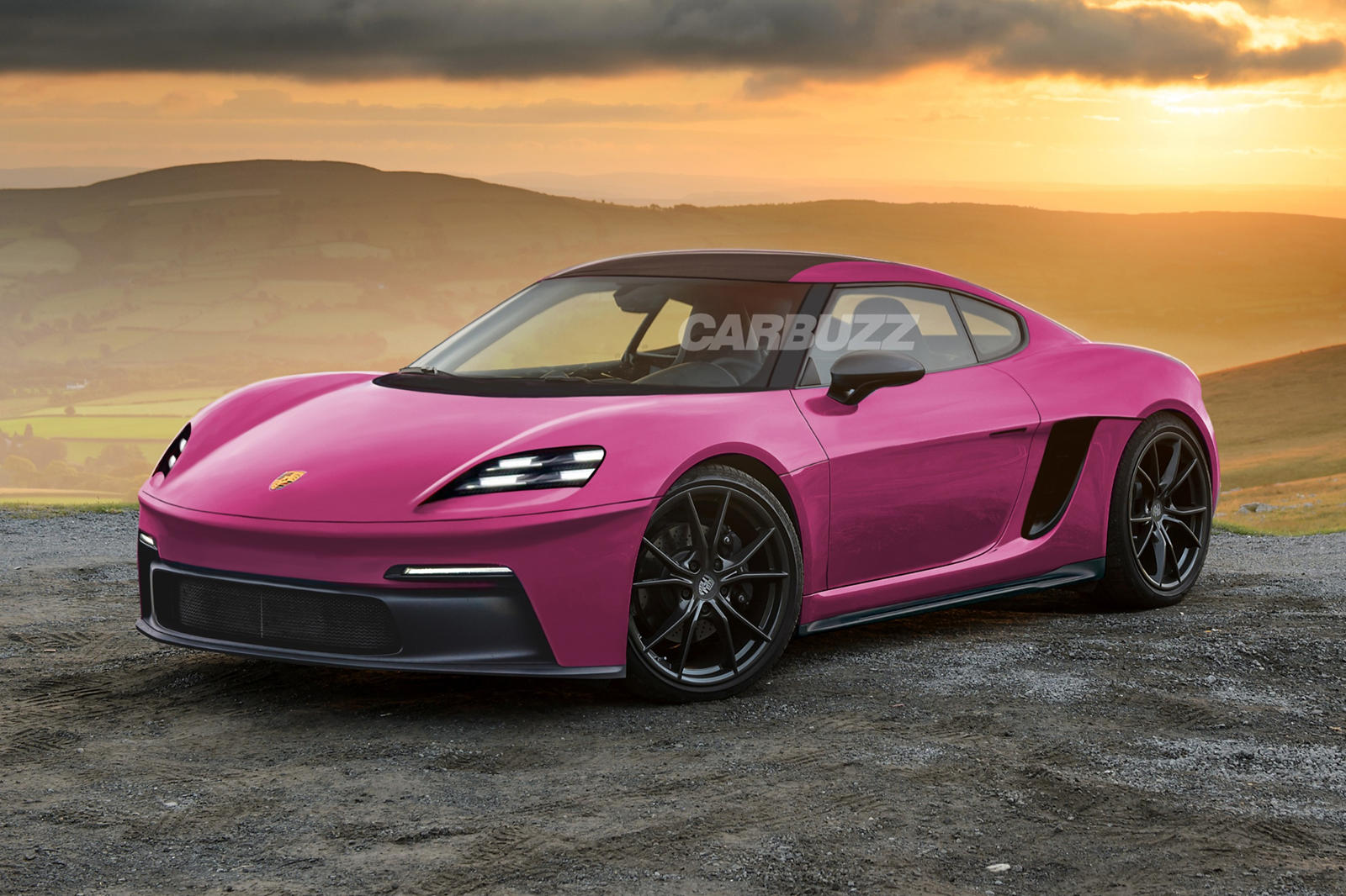 Get Excited For The New Electric Porsche 718 Cayman