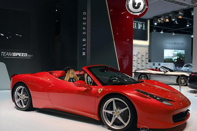 Ferrari 458 Italia Spider Convertible Rendered Carbuzz