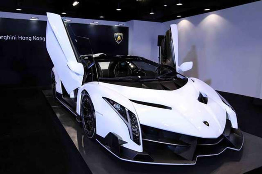 One Of Only 9 Lamborghini Veneno Roadsters In The World Was