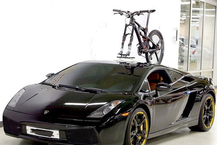 Would You Mount Your Bicycle On A Supercar Carbuzz