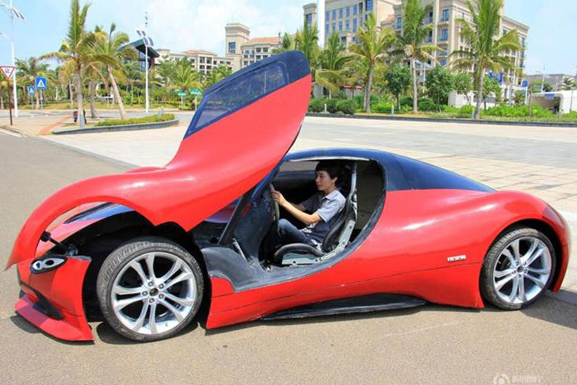 How To Build Your Dream Car Out Of Fiberglass When You Can't