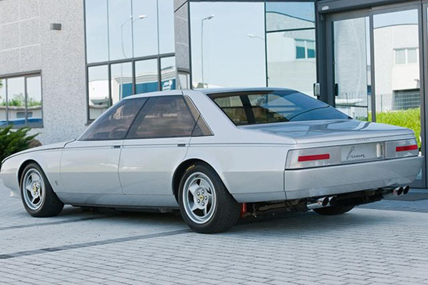 The Only Ferrari Four Door Sedan Ever Made Is Now On Sale Carbuzz