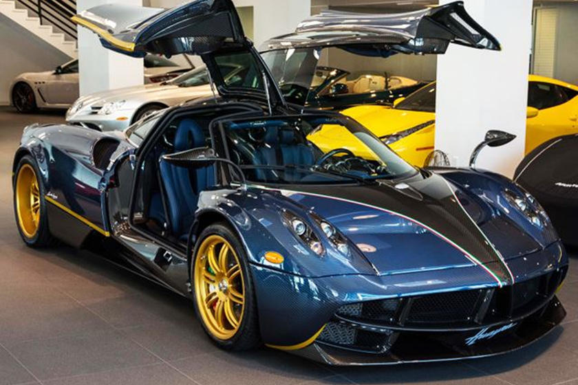 this one-off pagani huayra 730s is officially up for sale - carbuzz