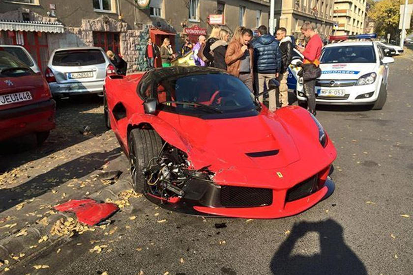 Is This Guy Crazy For Trying To Sell A Wrecked Laferrari S Bumper Carbuzz