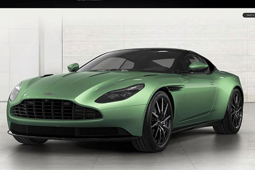 Configuring The New Aston Martin Db11 Is The Best Way To Spend A Day Carbuzz