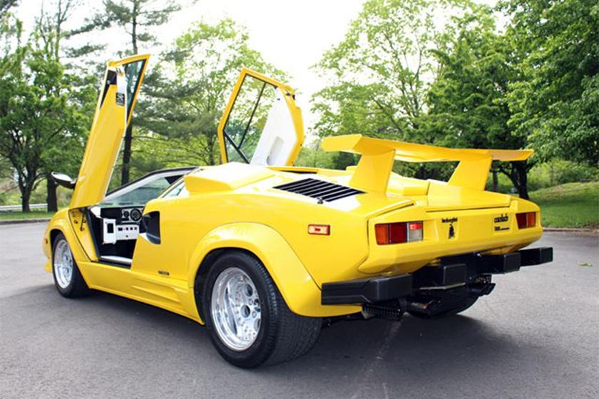 This 1988 Lamborghini Countach Has Been Driven Only 8 500 Miles