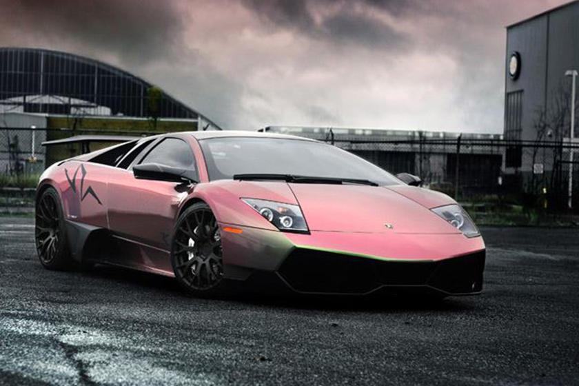 The Tie Dye Lamborghini Murcielago Superveloce Setaro Project Carbuzz
