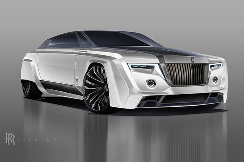 New Rolls Royce >> The Radical Rolls Royce Phantom Of The Future Could Look Like This