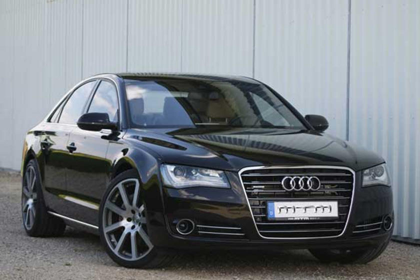 Mtm Tunes Vw S 4 2 Liter Tdi V8 Engine In The Audi A8 Carbuzz
