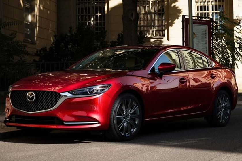 say hello to the 2019 mazda6: more premium and lots of torque - carbuzz