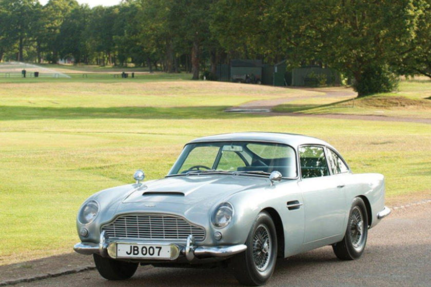 Vintage Aston Martin Db5 Back For James Bond S Skyfall Carbuzz
