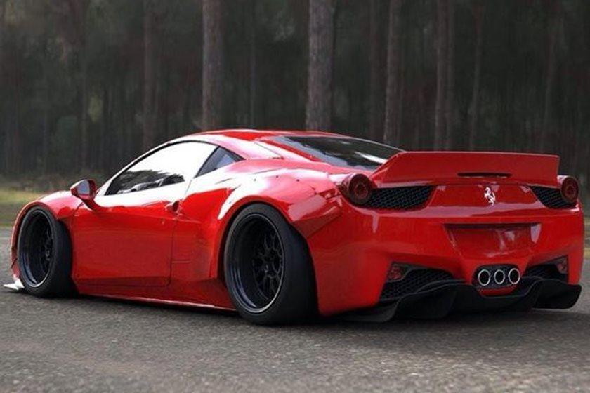 Ferrari 458 Widebody By Lb Performance Carbuzz