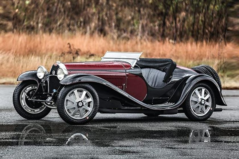 The First Car Ever Made >> The First Bugatti Type 55 Sports Car Ever Built Could Sell For 5