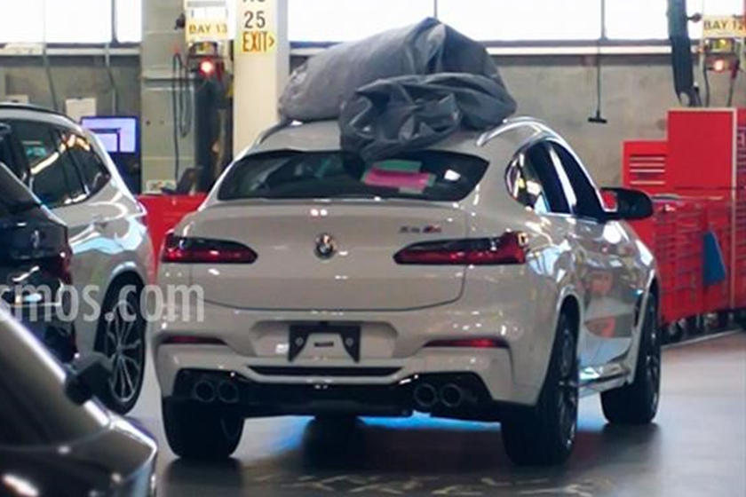 This Is The 2019 Bmw X4 M Before You Re Supposed To See It Carbuzz