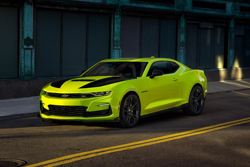 Chevrolet Listened And Will Move The Camaros Bowtie Logo Carbuzz