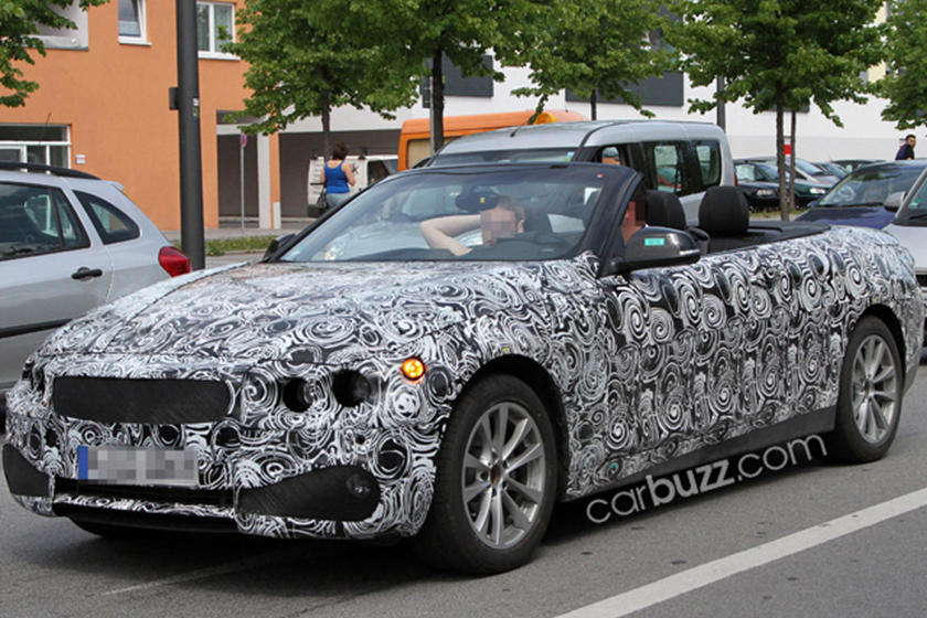 Spied: BMW 4-Series Convertible Cruising with the Top Down ...