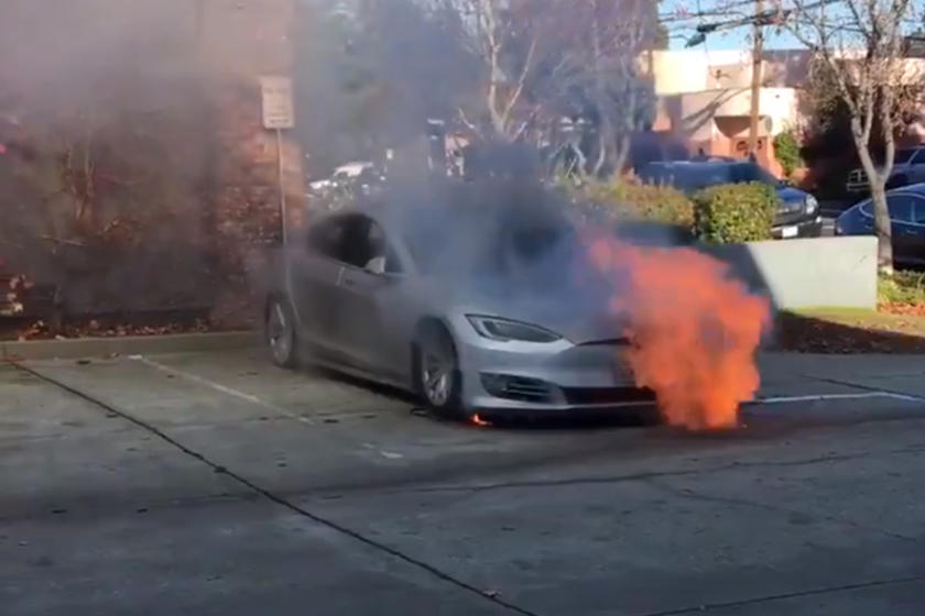 Tesla Model S Mysteriously Catches Fire   Twice | CarBuzz
