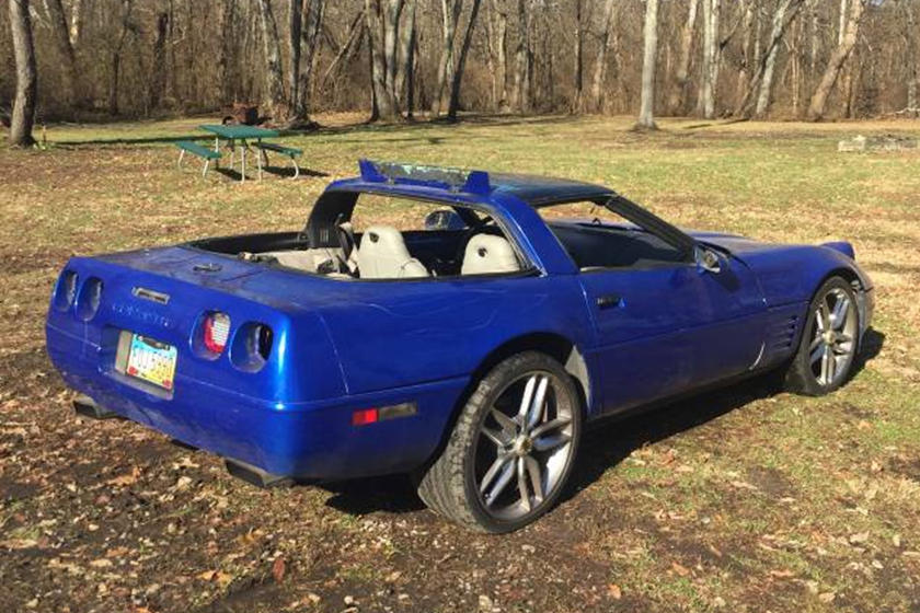 Why Is This Gutted C4 Corvette Worth 6 000 Carbuzz